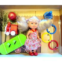 Muñeca Paula Articulada Set Activity Fun, Accesorios Oferta