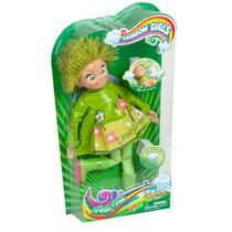 Rainbow Girls Muñeca Verde Leafy Green Silba Original Tv