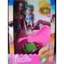 Barbie Playa Con Nena, Pileta,malla, Anteojos Y Mas