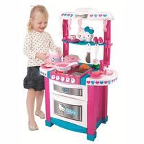 Cocina Completa Hello Kitty Con Luz Mejor Precio!!