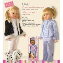 Muñeca Julieta Con Mecanismo De Palabras (mira El Video)