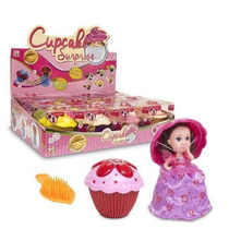 Cupcakes Surprise Muñecas Con Aroma Perfume Con Peine Emco