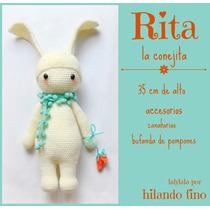Amigurumi Conejo Muñecos Lalylala Al Crochet, Miralas!!!!