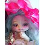 Mini Bjd Porcelain Ball Jointed Doll Gnome Ooak Art Doll