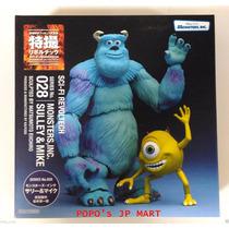 Monsters, Inc. Sulley & Mike Kaiyodo 028 Figura De Acción