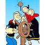Muñecos Goma Alambre Bendables Popeye Y Olivia Oil Blister!!