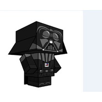 Cubeecraft - Dark Vader - Papercraft #103