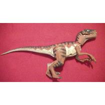 Muñeco Dinosaurio Plastico Duro Articulado Usado Ver...