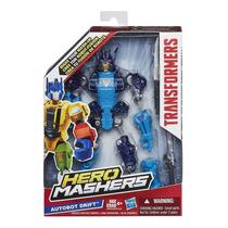 Juguete Para Niños Transformers Hero Mashers Autobot Drift