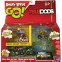 Telepods Angry Birds Go! Pack De 5 Autos Exclusivos