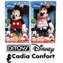 Muñeco Mickey O Minnie Ditoys 45 Cms Con Luz