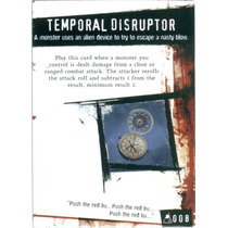 Horrorclix - #08 Temporal Disruptor - Twist Card - The Lab