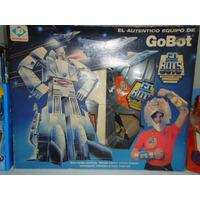 Gobots Plastirama Equipo De Disfraz Leader Epoca Transformer
