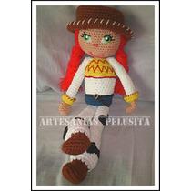 Jessy Toy Story, Muñeca Artesanal Tejida Crochet.