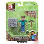 Minecraft Steve. Overworld Articulado. En Caja Sellado.