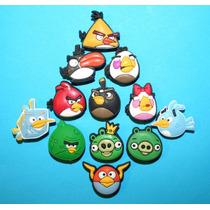 Angry Birds Jibbitz Pins Crocs. Usa 4 X $150