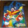 Bolsa Con Cierre De Pato Donald, Goofy, Mickey. Disney.