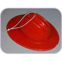 Casquitos Plasticos Para Souvenir - Bomberos -