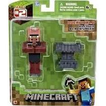 Minecraft Villager Blacksmith. Overworld Articulado. Sellado