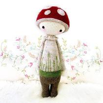 Patrón Lalylala Hongo - Amigurumi - Crochet - En Español