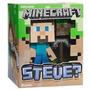 Muñeco Minecraft Steve, Creeper 17 Cm Aprox Con Luz