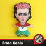 Frida Kahlo Muñeca Peluche Muñeco Vellon Tela Diego Rivera