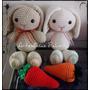 Conejos Tejido Crochet Amigurumi
