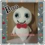 Fantasma Crochet Amigurumi Lana Halloween