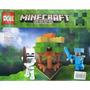 Minecraft Lego Compatible Doll D207 98 Piezas 2 Muñecos