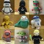 Star Wars Peluche Tejido Crochet Amigurumi Shamy Amigurumis