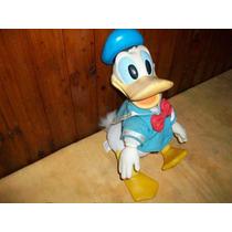 Pato Donald De Plàstico Y Tela