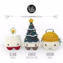 Lalylala Estaciones: Navidad - Patrones - Amigurumi