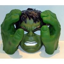 Manos Del Increible Hulk (de Goma) + Mascara