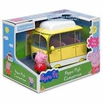 Peppa Pig Vehiculos Con Figura / Micrófono Con Amplificador
