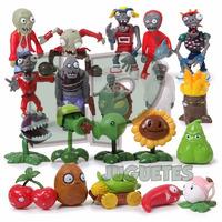 Plantas Vs Zombies Coleccion 10 Muñecos P/torta O Jugar