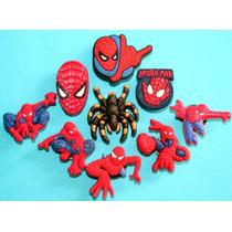 Spiderman Hombre Araña Jibbitz Pins Crocs. Usa 4 X $100