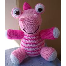 Dino Amigurumi - Muñecos Tejidos A Crochet