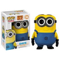 Dave Minions Despicable Me2 Funko Pop Movies Vinyl Figura