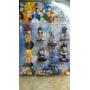 Blister Muñecos Dragon Ball Z X8 (7 Cm Aprox)
