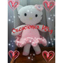 Gatita Hello Kitty!! Tejido Amigurumi Crochet