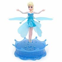 Frozen Muñeca Voladora -flying Princess- Luz Y Melodías