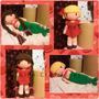 Muñeca De Lana Crochet Amigurumi Tejida A Mano 4 En 1 Sirena
