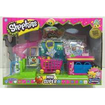 Shopkins Mini Supermercado Set De Juego Con Acc Zap 56008