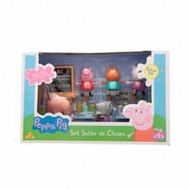 Peppa Pig Va A La Escuela Set Classroom Peppa La Cerdita