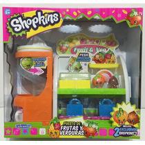 Shopkins Puesto De Frutas Y Verduras Con Acc Xml 56006