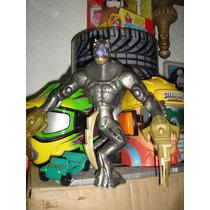 Elementor De Metal - El Enemigo De Max Steel- Muy Bueno !!