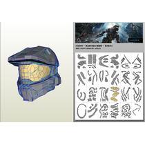 Halo 4 Pepakura Casco Xbox Play Station