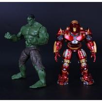 Muñeco Iron Man Hulkbuster Vs Hulk Avenger 2 (los 2 Muñecos)