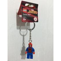 Llavero Lego El Hombre Araña, Spiderman Marvel, Super Heroes