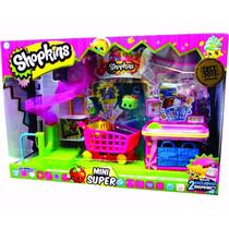 Shopkins Mini Super + 2 Shopkins Exclusivos La Lucila